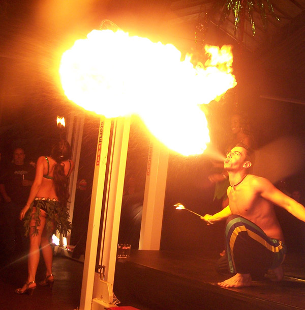 hawaii vuurshow